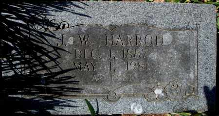 HARROD, J.W. - Faulkner County, Arkansas | J.W. HARROD - Arkansas Gravestone Photos