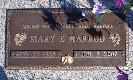 HARROD, MARY E. - Faulkner County, Arkansas | MARY E. HARROD - Arkansas Gravestone Photos