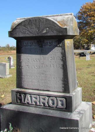 HARROD (VETERAN CSA), CHRISTOPHER COLUMBUS - Faulkner County, Arkansas   CHRISTOPHER COLUMBUS HARROD (VETERAN CSA) - Arkansas Gravestone Photos