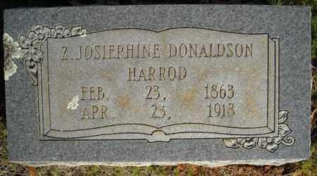HARROD, Z. JOSIEPHINE - Faulkner County, Arkansas   Z. JOSIEPHINE HARROD - Arkansas Gravestone Photos