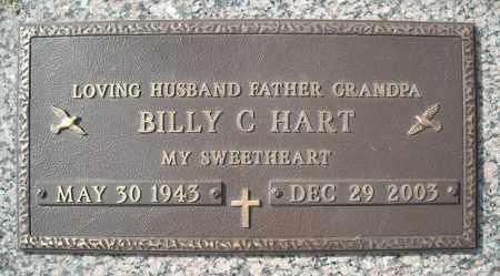 HART, BILLY C. - Faulkner County, Arkansas | BILLY C. HART - Arkansas Gravestone Photos