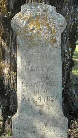 HARTYE, MARY - Faulkner County, Arkansas | MARY HARTYE - Arkansas Gravestone Photos