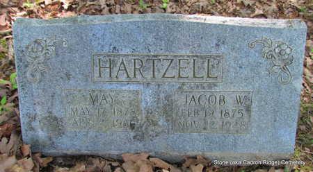 HARTZELL, MAY - Faulkner County, Arkansas   MAY HARTZELL - Arkansas Gravestone Photos