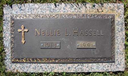 HASSELL, NELLIE L. - Faulkner County, Arkansas   NELLIE L. HASSELL - Arkansas Gravestone Photos