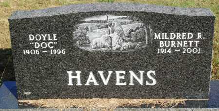 BURNETT HAVENS, MILDRED R. - Faulkner County, Arkansas | MILDRED R. BURNETT HAVENS - Arkansas Gravestone Photos