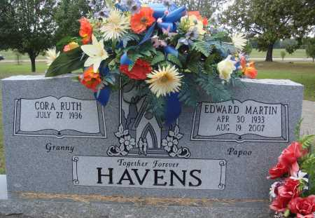 HAVENS, EDWARD MARTIN - Faulkner County, Arkansas | EDWARD MARTIN HAVENS - Arkansas Gravestone Photos