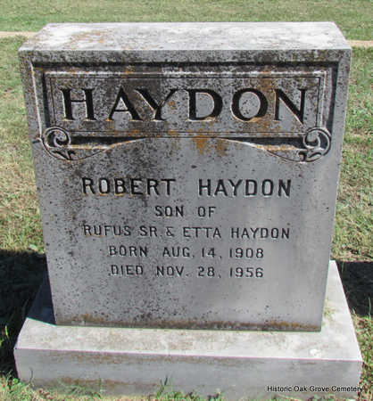 HAYDON, ROBERT - Faulkner County, Arkansas | ROBERT HAYDON - Arkansas Gravestone Photos