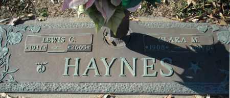 HAYNES, LEWIS C. - Faulkner County, Arkansas   LEWIS C. HAYNES - Arkansas Gravestone Photos