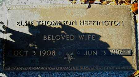 HEFFINGTON, ELSIE - Faulkner County, Arkansas | ELSIE HEFFINGTON - Arkansas Gravestone Photos