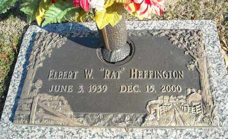 HEFFINGTON, ELBERT W. - Faulkner County, Arkansas   ELBERT W. HEFFINGTON - Arkansas Gravestone Photos