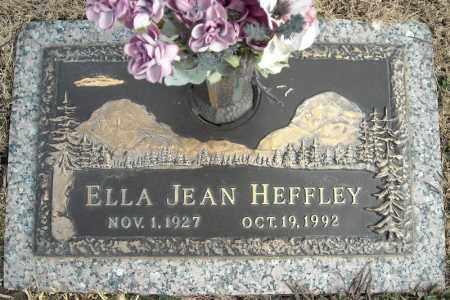 HEFFLEY, ELLA JEAN - Faulkner County, Arkansas | ELLA JEAN HEFFLEY - Arkansas Gravestone Photos