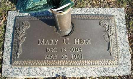 HEGI, MARY C. - Faulkner County, Arkansas   MARY C. HEGI - Arkansas Gravestone Photos