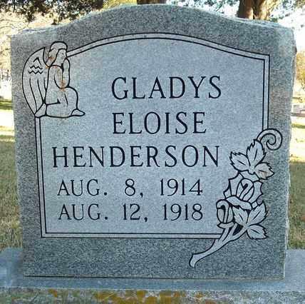 HENDERSON, GLADYS ELOISE - Faulkner County, Arkansas | GLADYS ELOISE HENDERSON - Arkansas Gravestone Photos