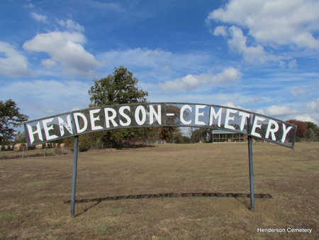 *HENDERSON SIGN AND OVERVIEW 3,  - Faulkner County, Arkansas |  *HENDERSON SIGN AND OVERVIEW 3 - Arkansas Gravestone Photos