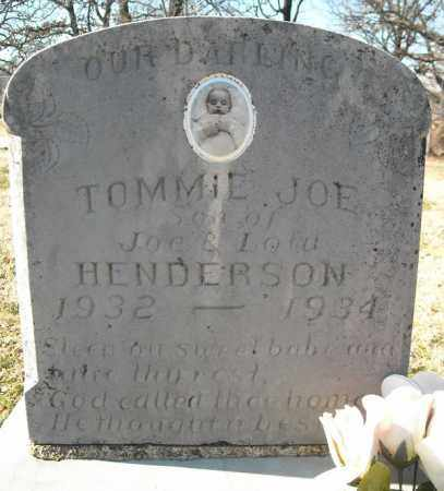 HENDERSON, TOMMIE JOE - Faulkner County, Arkansas | TOMMIE JOE HENDERSON - Arkansas Gravestone Photos