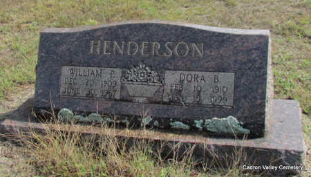 HENDERSON, WILLIAM P. - Faulkner County, Arkansas | WILLIAM P. HENDERSON - Arkansas Gravestone Photos