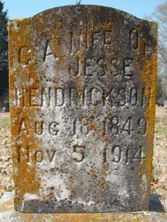 HENDRICKSON, C. A. - Faulkner County, Arkansas | C. A. HENDRICKSON - Arkansas Gravestone Photos