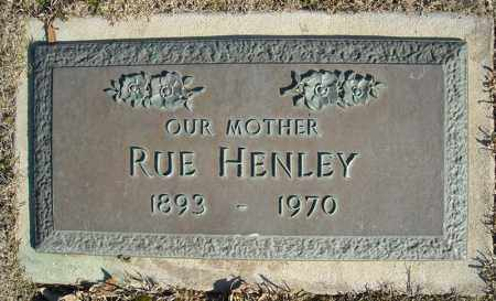 HENLEY, RUE - Faulkner County, Arkansas | RUE HENLEY - Arkansas Gravestone Photos