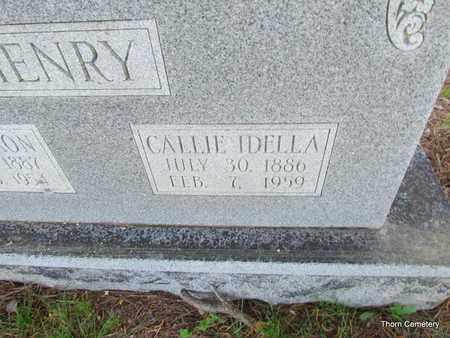 HENRY, CALLIE IDELLA (CLOSE UP) - Faulkner County, Arkansas | CALLIE IDELLA (CLOSE UP) HENRY - Arkansas Gravestone Photos