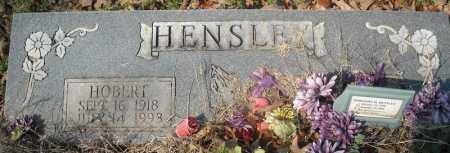 HENSLEY, HOBERT - Faulkner County, Arkansas | HOBERT HENSLEY - Arkansas Gravestone Photos