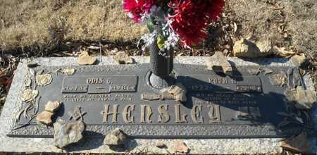 HENSLEY, RUTH H. - Faulkner County, Arkansas | RUTH H. HENSLEY - Arkansas Gravestone Photos
