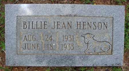HENSON, BILLIE JEAN - Faulkner County, Arkansas | BILLIE JEAN HENSON - Arkansas Gravestone Photos