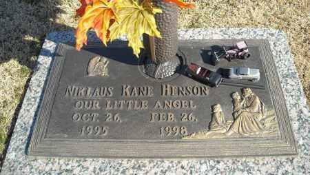 HENSON, NIKLAUS KANE - Faulkner County, Arkansas   NIKLAUS KANE HENSON - Arkansas Gravestone Photos