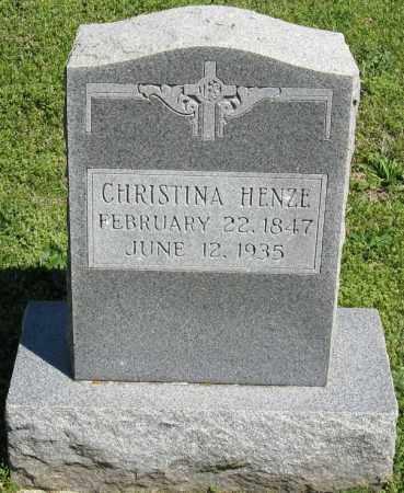 HENZE, CHRISTINA - Faulkner County, Arkansas | CHRISTINA HENZE - Arkansas Gravestone Photos