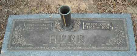 HERR, EDWARD CARTY - Faulkner County, Arkansas | EDWARD CARTY HERR - Arkansas Gravestone Photos
