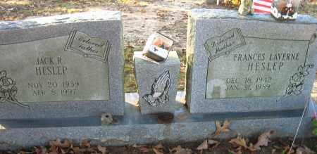 HESLEP, FRANCES LAVERNE - Faulkner County, Arkansas | FRANCES LAVERNE HESLEP - Arkansas Gravestone Photos