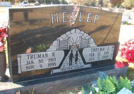 HESLEP, THELMA J. - Faulkner County, Arkansas | THELMA J. HESLEP - Arkansas Gravestone Photos