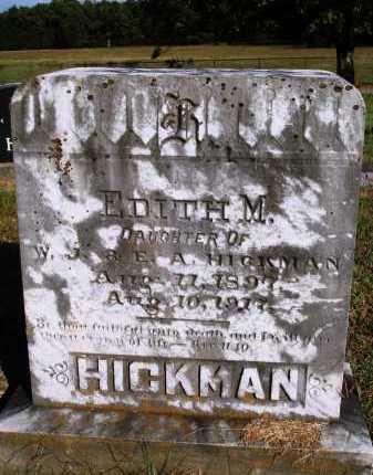 HICKMAN, EDITH M. - Faulkner County, Arkansas | EDITH M. HICKMAN - Arkansas Gravestone Photos