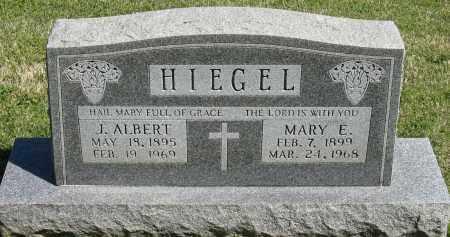 HIEGEL, MARY E. - Faulkner County, Arkansas | MARY E. HIEGEL - Arkansas Gravestone Photos