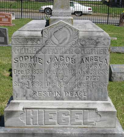 HIEGEL, ANGELA - Faulkner County, Arkansas | ANGELA HIEGEL - Arkansas Gravestone Photos