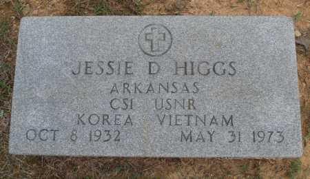 HIGGS  (VETERAN 2 WARS), JESSIE D - Faulkner County, Arkansas   JESSIE D HIGGS  (VETERAN 2 WARS) - Arkansas Gravestone Photos