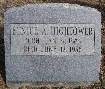 HIGHTOWER, EUNICE A. - Faulkner County, Arkansas | EUNICE A. HIGHTOWER - Arkansas Gravestone Photos