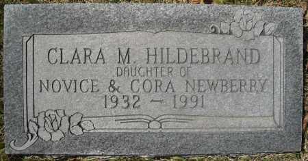 NEWBERRY HILDEBRAND, CLARA M. - Faulkner County, Arkansas | CLARA M. NEWBERRY HILDEBRAND - Arkansas Gravestone Photos