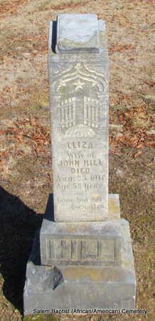 HILL, ELIZA - Faulkner County, Arkansas   ELIZA HILL - Arkansas Gravestone Photos