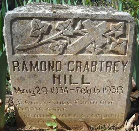 HILL, RAMOND CRABTREY - Faulkner County, Arkansas | RAMOND CRABTREY HILL - Arkansas Gravestone Photos
