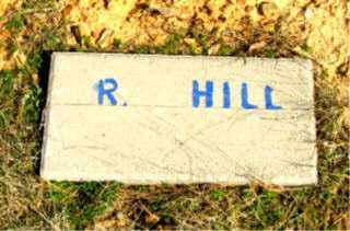 HILL, R. - Faulkner County, Arkansas | R. HILL - Arkansas Gravestone Photos