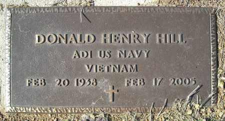 HILL (VETERAN VIET), DONALD HENRY - Faulkner County, Arkansas | DONALD HENRY HILL (VETERAN VIET) - Arkansas Gravestone Photos