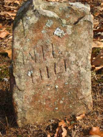 HILL, W.H. - Faulkner County, Arkansas   W.H. HILL - Arkansas Gravestone Photos