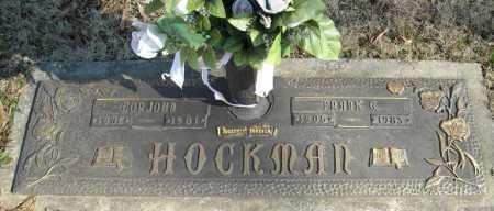 HOCKMAN, FRANK G. - Faulkner County, Arkansas | FRANK G. HOCKMAN - Arkansas Gravestone Photos