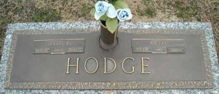 HODGE, FRED - Faulkner County, Arkansas   FRED HODGE - Arkansas Gravestone Photos