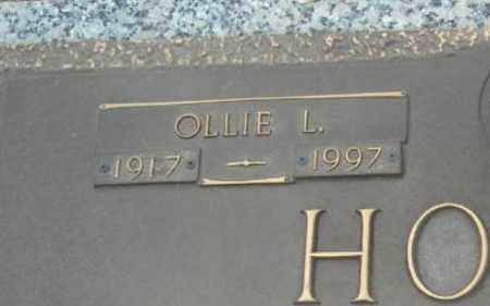 HODGE, OLLIE L. (CLOSE UP) - Faulkner County, Arkansas | OLLIE L. (CLOSE UP) HODGE - Arkansas Gravestone Photos