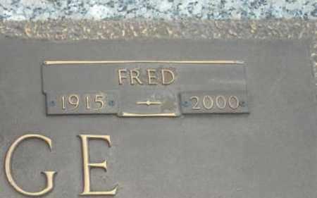 HODGE, FRED (CLOSE UP) - Faulkner County, Arkansas | FRED (CLOSE UP) HODGE - Arkansas Gravestone Photos