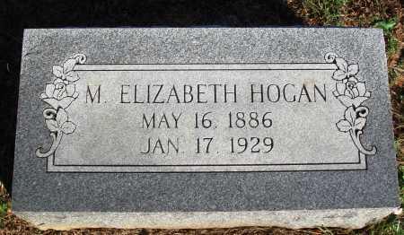 HOGAN, M. ELIZABETH - Faulkner County, Arkansas | M. ELIZABETH HOGAN - Arkansas Gravestone Photos