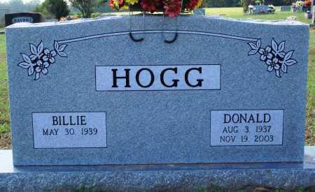 HOGG, DONALD - Faulkner County, Arkansas | DONALD HOGG - Arkansas Gravestone Photos