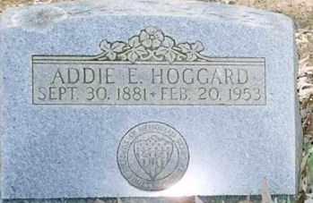 CAID HOGGARD, ADDIE E. - Faulkner County, Arkansas | ADDIE E. CAID HOGGARD - Arkansas Gravestone Photos