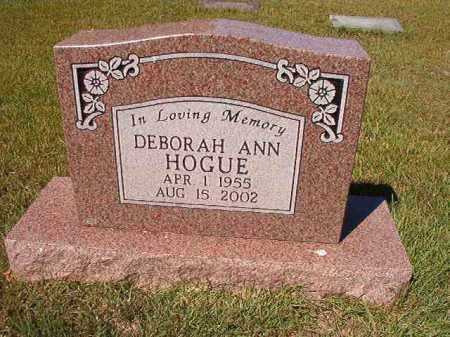 HOGUE, DEBORAH ANN - Faulkner County, Arkansas   DEBORAH ANN HOGUE - Arkansas Gravestone Photos